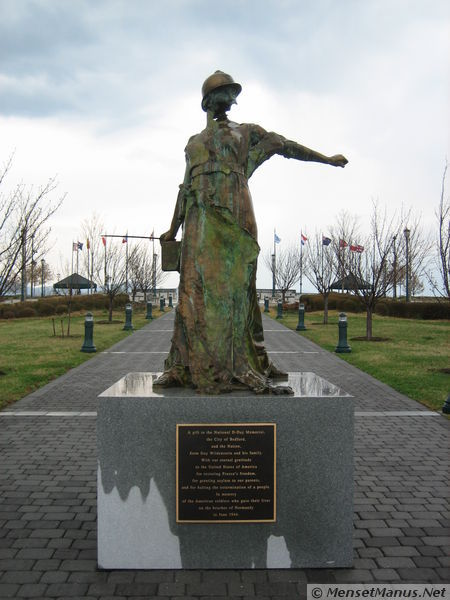 The National D Day Memorial Overlook