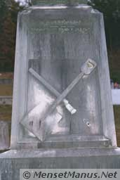 Briceville Cemetery Miners' Circle Monument