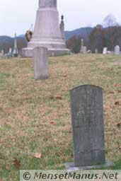 Leach Cemetery Miners' Circle Monument